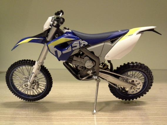 Miniatura Moto Husaberg Fe450 Joycity Escala 1:12 (18 Cm)