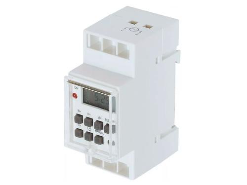 Timer Digital Para Riel Din Reloj Temporizador Programable Zurich Encendido Y Apagado