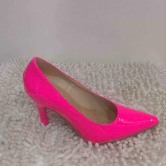 Zapatos Stilletos Neon Mujer De Vestir