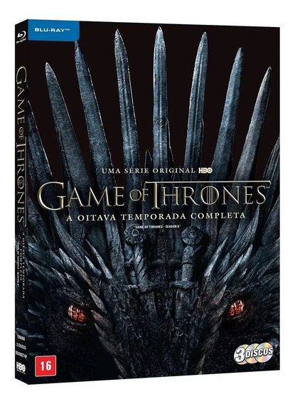 Blu-ray Box - Game Of Thrones 8ª Temporada Completa Dublada