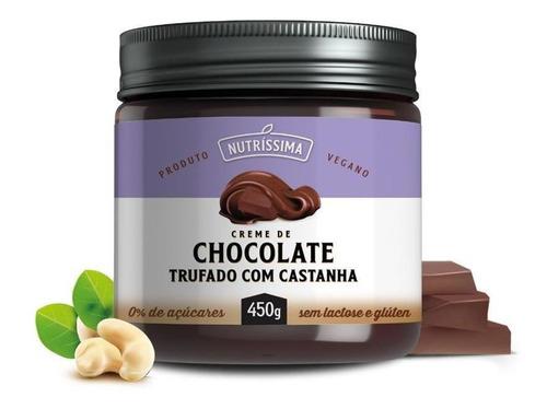 Creme De Chocolate Vegano Com Castanha 450g - Nutríssima
