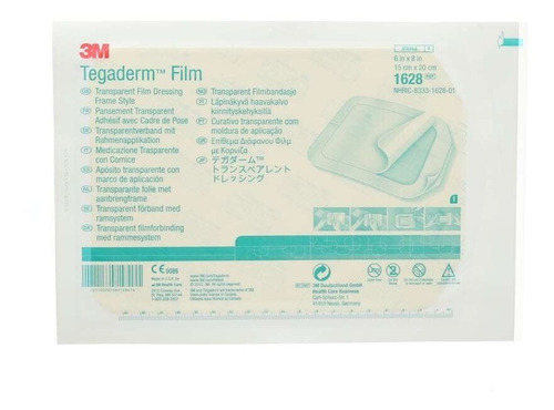 Imagen 1 de 4 de Tegaderm 3m Film Parches 1628 15 X 20 Cm (original)