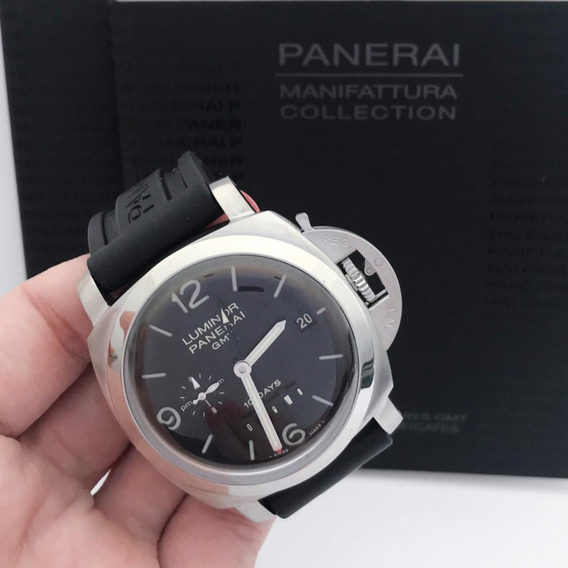 Panerai Luminor 1950 10 Days Gmt Automatic Impecável Completo