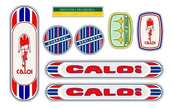 Adesivo Não Decal Bicicleta Caloi Berlineta 1974