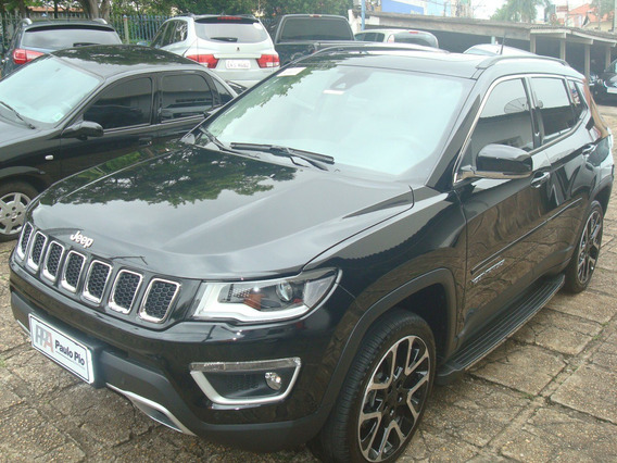 Compass Limited 4x4 Diesel 2018 Com Teto E High Tech A Top