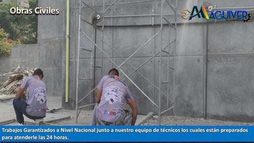 Imagen 1 de 10 de Obra Civil Construcción Albañilería Electricidad Plomería