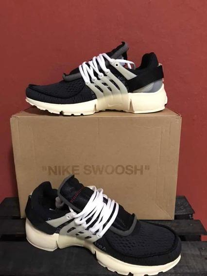 Sneakers Nike Air Presto Off White Negros 1.1 Ua Con Caja