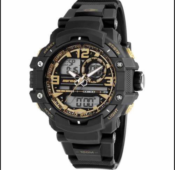 Relógio Mormaii Masculino Preto Mo0949/8u