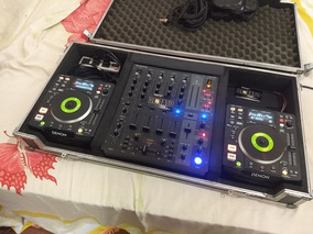 Cdj Denon Dns 1200 E Mixer Bheringer Djx 750 Na Case ...
