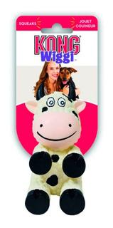 Vaca De Juguete Wiggi Kong Con Sonido Para Perro - Chica