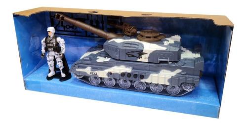 Militar, Soldado, Tanque De Guerra Combate Con Sonidos 71309