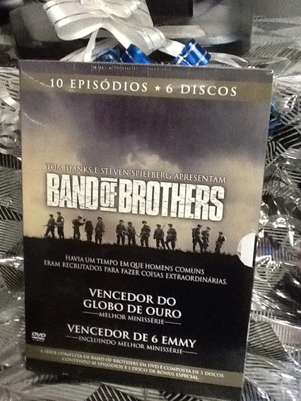 Dvd Band Of Brothers 6 Discos A Minissérie Completa