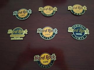Chapas Con Imán Originales De Hard Rock