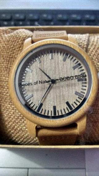 Relógio Bobo Bird Na Caixa