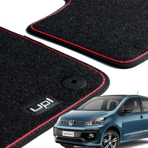 Imagem 1 de 5 de Tapetes De Carpete Up! Costura Vermelha Original Vw