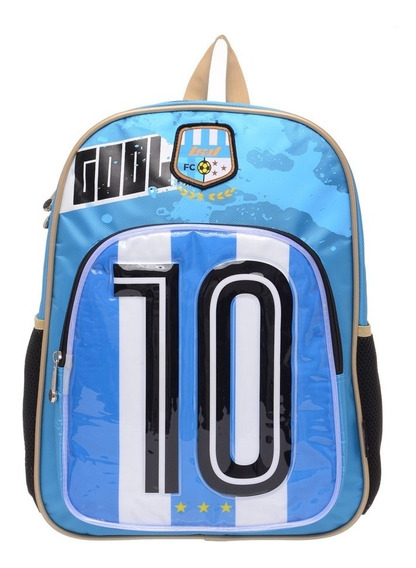 Mochila Argentina Led Futbol + 33608
