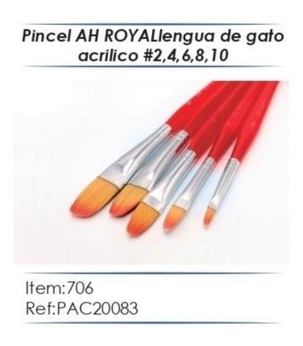 Imagen 1 de 9 de Pinceles Ah Royal X Estuches