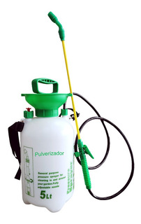 Pulverizador Manual 5 Litros Agrotóxicos Pesticida Completo Bico Regulavel Jardim Sitio Borrifador Pressão Interna