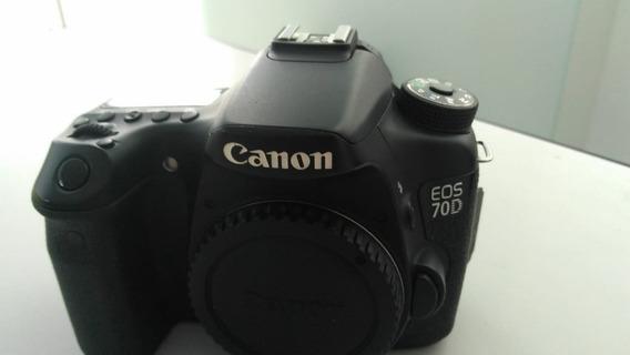 Camera Canon 70d (usada)