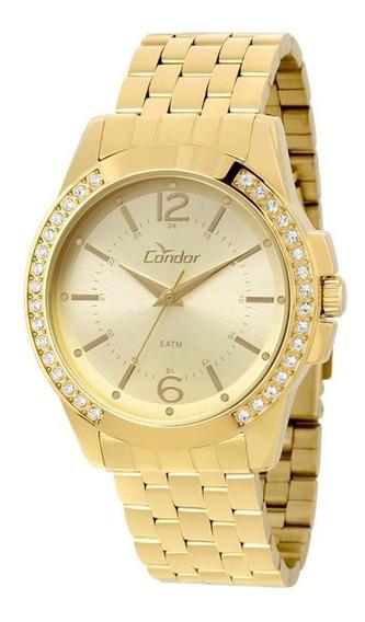 Relógio Condor Feminino Dourado Co2035kou4d