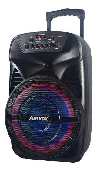 Caixa Amplificada Amvox Aca 280 Black 280w Bluetooth
