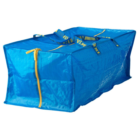 Mochila De Almacenamiento Ikea, Azul, Paquete De 4