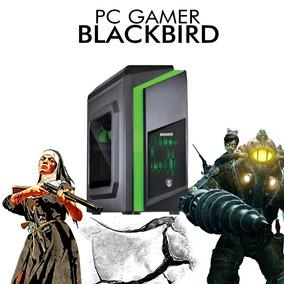 Pc Gamer Blackbird - Intel I7 8700, Rx 550 4gb, 1tb, 8gb Ram