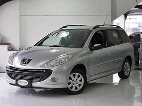 Peugeot 207 Sw 1.4 Xr Sport Flex 2011 Prata Completo
