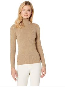 Sweater Cuello De Tortuga Dorado Oro Talla Unica No Gap