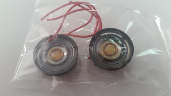 Mini Auto Falante 8 Ohms 0,25 Watt 21mm (kit 6 Unid.) (cod 09)