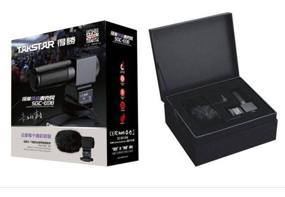 Microfone Takstar Sgc 698 Estéreo Nikon Canon Dslr Sgc 698