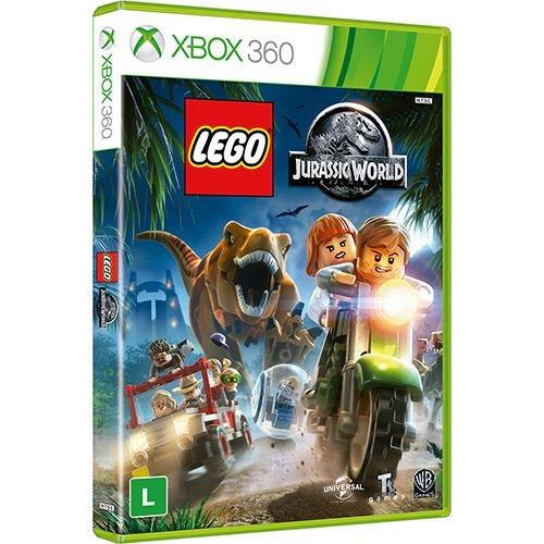 Game Lego Jurassic World Xbox 360 Disco Midia Fisica Lacrado