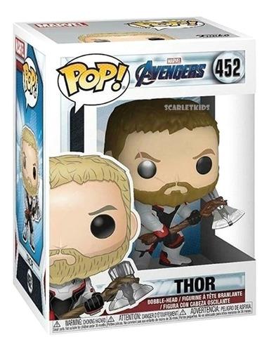 Funko Pop Thor Avengers Endgame 452 Original Scarletkids