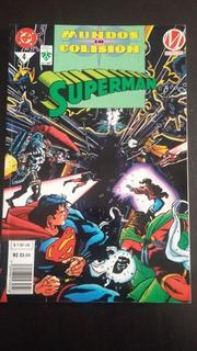 Superman Mundos En Colisión Vol.4 1era Edicion Editorial Vid