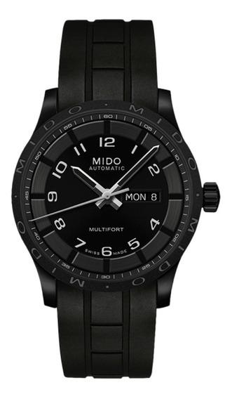Reloj Mido M0184303705200 Para Caballero Correa De Caucho