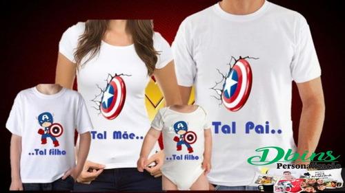 Kit 4 Camisetas Poliester   Personalizadas  Tamanho A4
