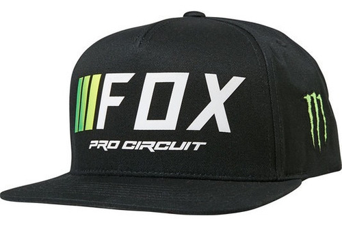 Gorra Fox Motocross Pro Circuit Snapback #26446-001
