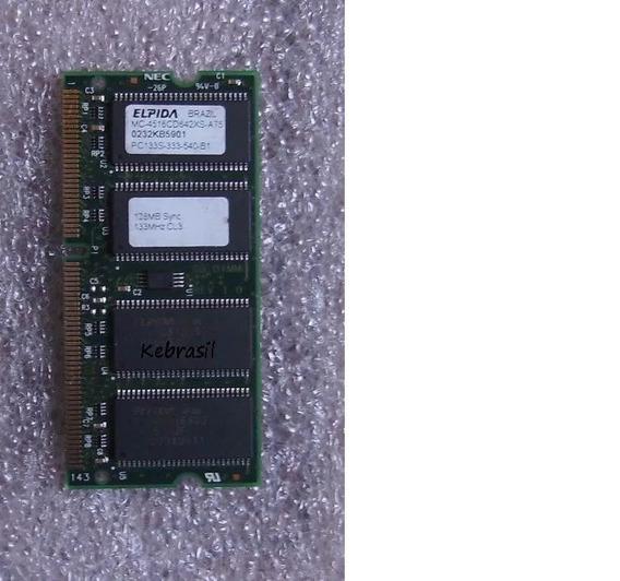 Memoria Ram Notebook Sodimm Pc133 128 Mbyte