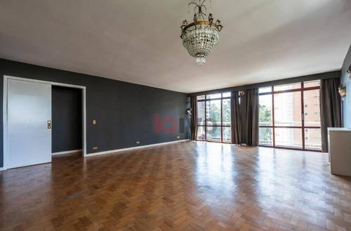 Imagem 1 de 30 de Apartamento 3 Quartos  177 M² Úteis R$ 13.000/mês - Vila Nova Conceição - São Paulo/sp - Ap2711