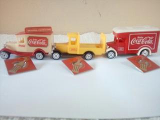 Caminhão De Brinquedo Da Coca Cola Mais Pin