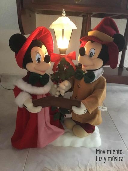 Muñecos De Navidad Música Y Movimiento Mickey Minnie