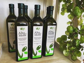 Aceite De Oliva 1lt Alto Del Molle (extra Virgen)