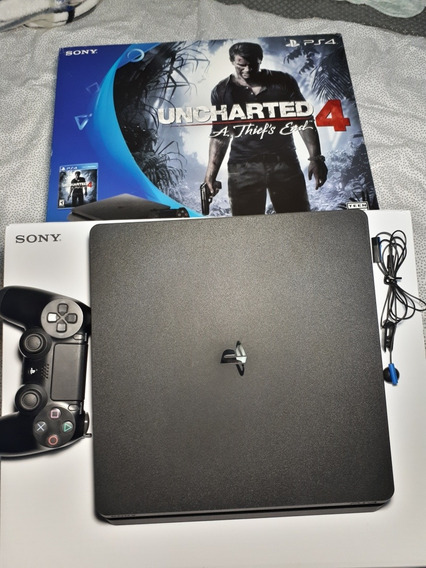 Ps4 Slim + Gtav + Uncharted 4 + Ghost Recon: Wildland