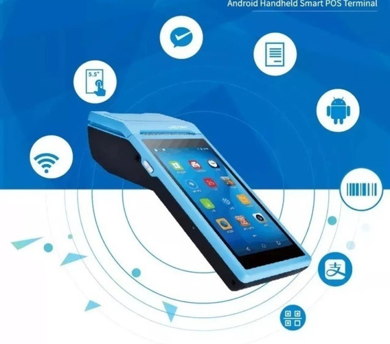 Impressora Termica Terminal Pda Wfi 3g Android Bluetooth
