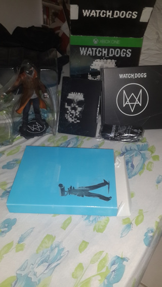 Watch Dogs Limited Edition Xbox One Completa