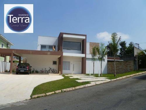 Casa À Venda, 430 M² Por R$ 3.000.000,00 - Jardim Passárgada I - Cotia/sp - Ca0451