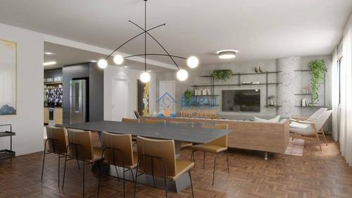 Apartamento Com 3 Dormitórios À Venda, 248 M² Por R$ 2.250.000,00 - Santa Cecília - São Paulo/sp - Ap63901