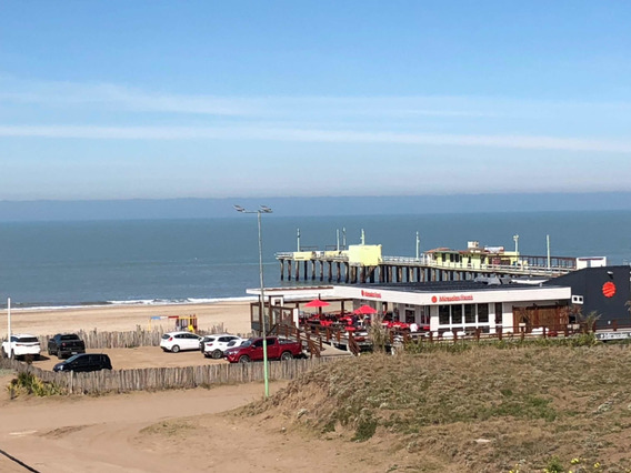 Departamento Monoambiente Pinamar Frente Al Mar. Reciclado!