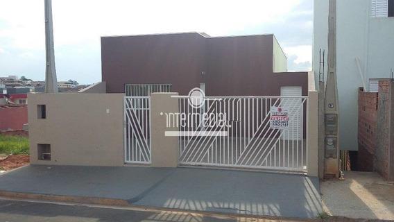 Casa Residencial À Venda, Residencial Água Branca, Boituva. - Ca1305