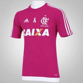 Camisa Flamengo Rosa Personalizada Nome E Numero